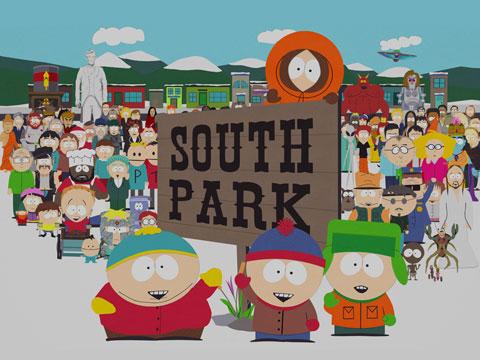how to make south park