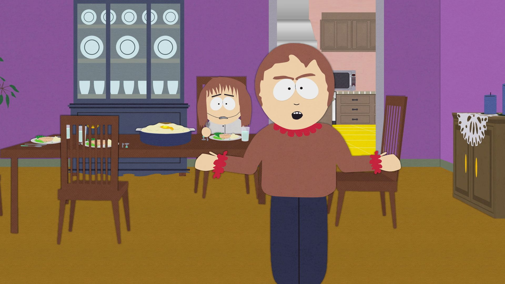 Trying to Have A Nice Dinner - Video Clip | South Park ...