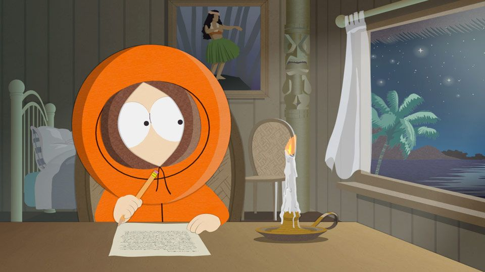 Humbly yours kenneth video clip south park studios - Pics of kenny from south park ...