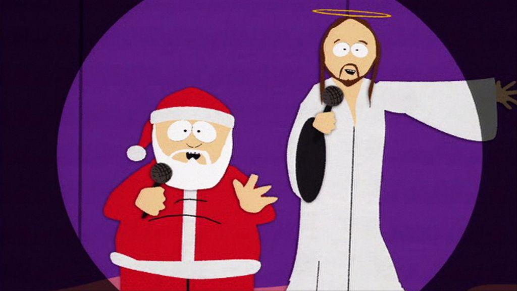Santa and Jesus - Video Clip | South Park Studios Nordics