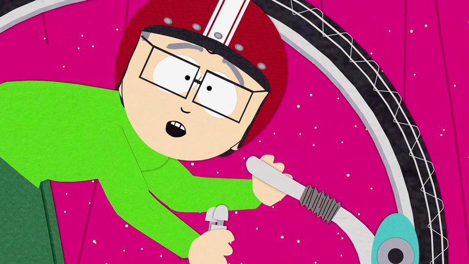South park mr garrison bike