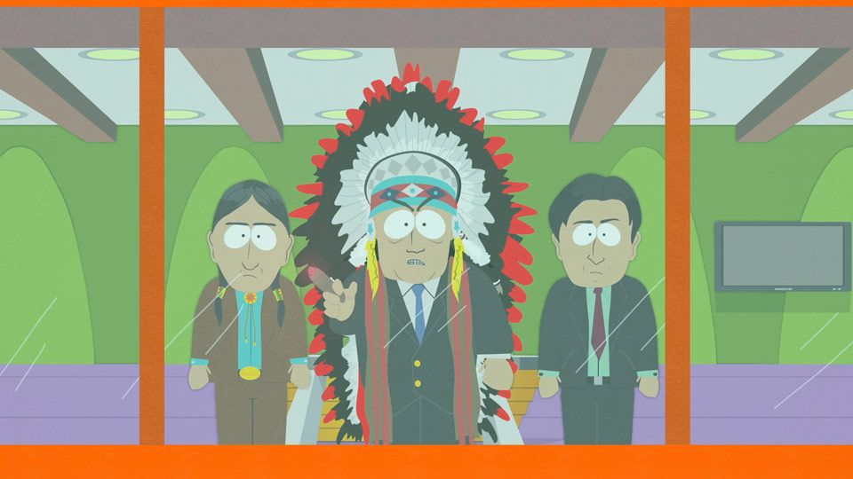 South park native casino native american gambling income